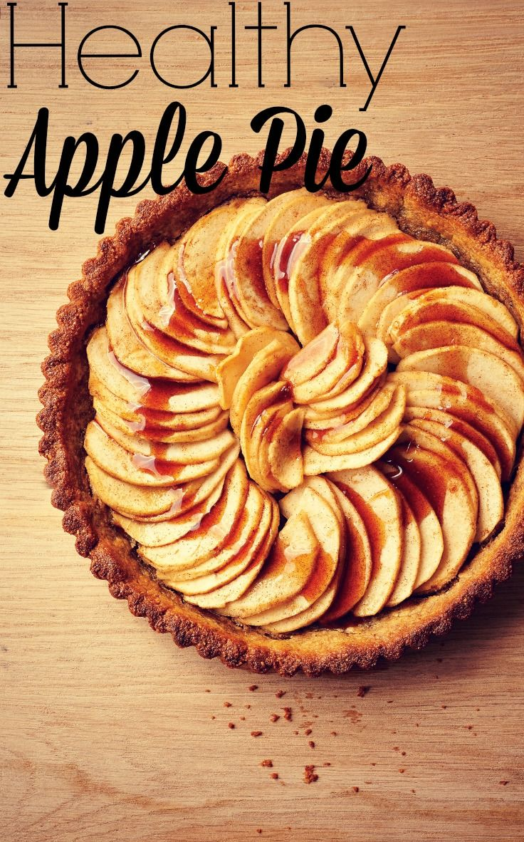 You don't need buckets of sugar and fat to make apples taste delicious, and this healthy apple pie recipe is proof. Got to love healthy dessert!