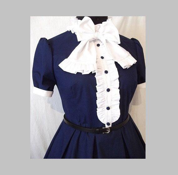 Dress for women, American cotton  Retro