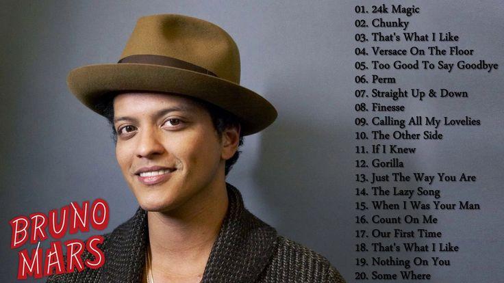 Bruno Mars Best Songs || Bruno Mars Greatest HIts 2017