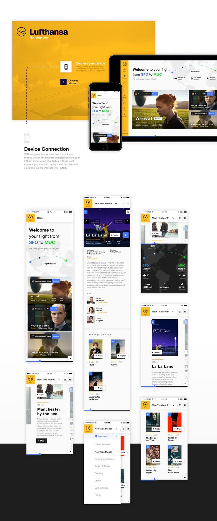 Lufthansa Infotainment Concept on Behance