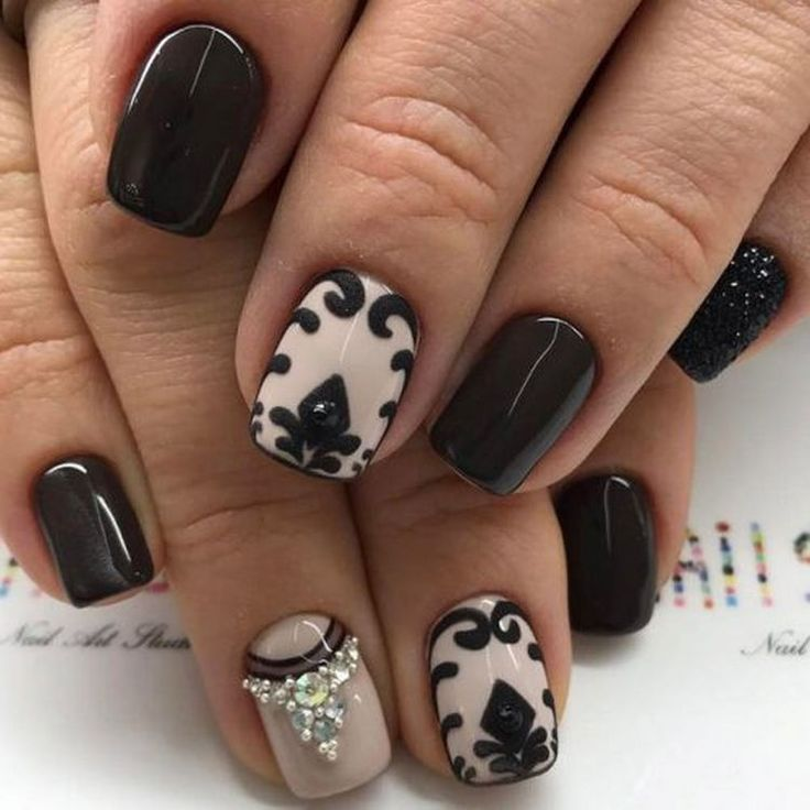 846 best nail art designs images on pinterest music nail art 17 winter nail art designs and ideas to brighten up the season prinsesfo Image collections
