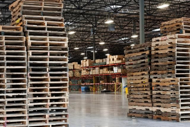 Here are some good ideas about where to find free pallets.