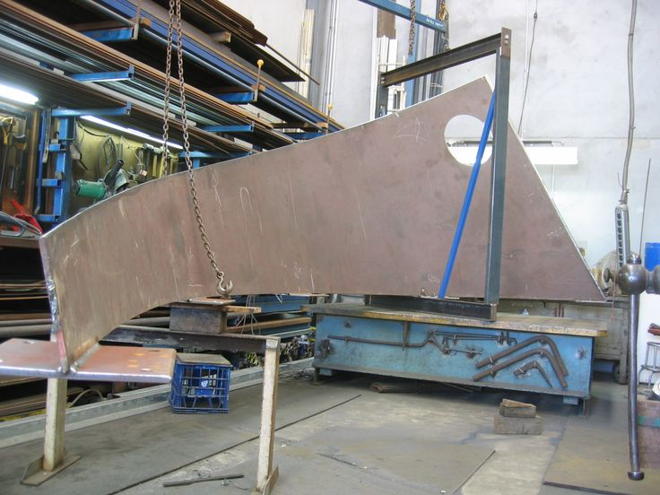 Sculpture in production 2009