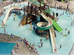 Waterparks in Texas - Castaway Cove in Wichita Falls