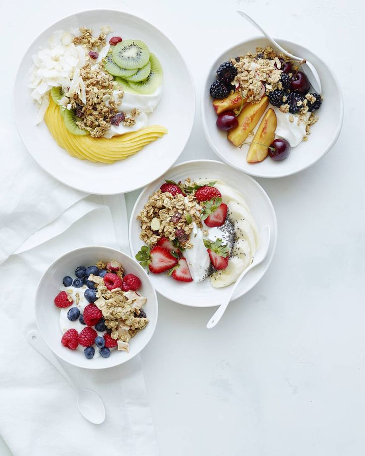 Breakfast Bowls 5 Ways from www.whatsgabycooking.com (@whatsgabycookin)