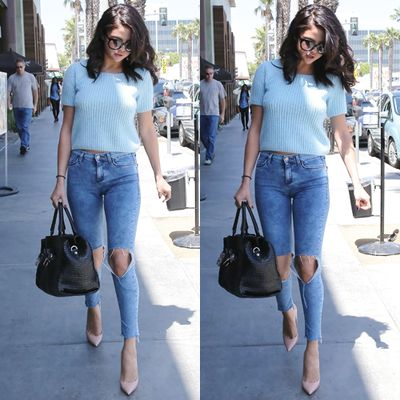 120 best images about Jeans   Heels on Pinterest | Pump, Blazers ...