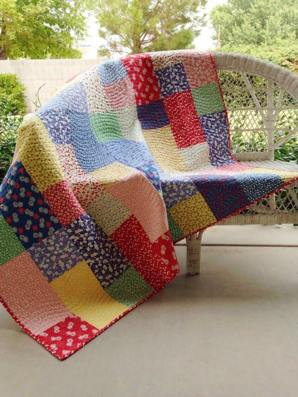 Fat Quarters Make a Quick and Easy Quilt - Quilting Digest