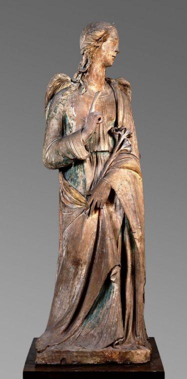 Archangel Gabriel : Agostino di Duccio (Florence 1418-1481 Perugia), ca. 1470's