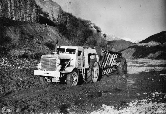 Euclid wagon hauler   Construction Equipment   Pinterest