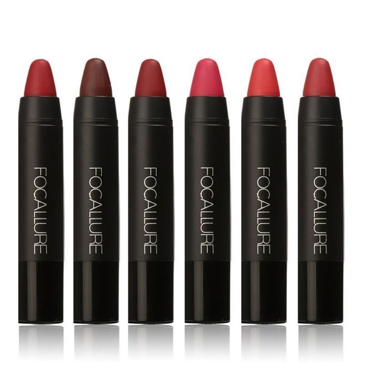 FOCALLURE 12 Color Matte Lip Stick Waterproof Long lasting
