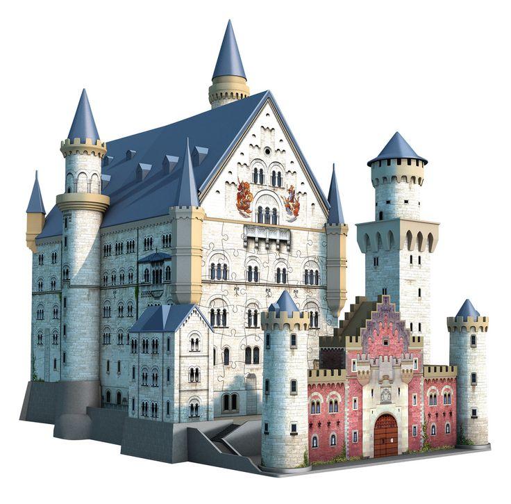 Neuschwanstein Castle | 3D Puzzle Building | 3D Puzzles | Shop | US | ravensburger.com