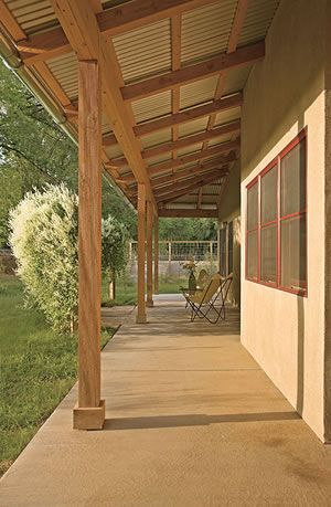 Porches Patio And Pole Barns On Pinterest