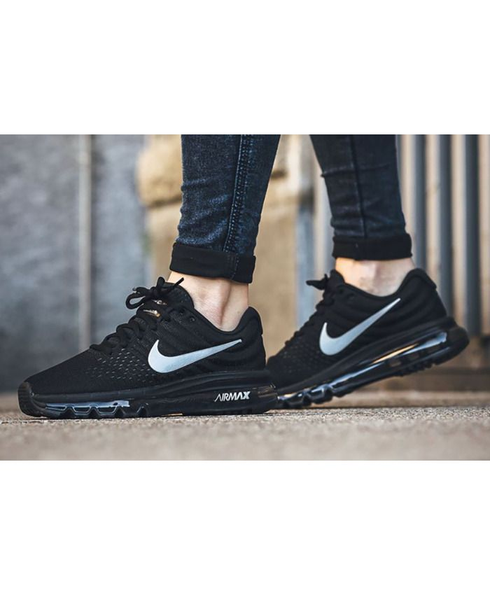 e9e1cb906284c NIKE AIR MAX 2017 BLACK/WHITE-ANTHRACITE 849560-001 Wmn Sz 9.5 ...