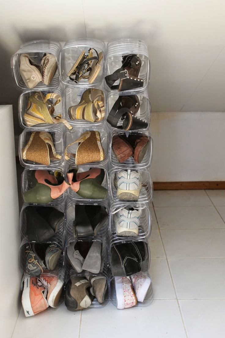 """""""En""""CROIXyable: See how I made it in here http://encroixyable.blogspot.pt/2014/05/guardar-sapatos-num-t0-reciclar.html"""