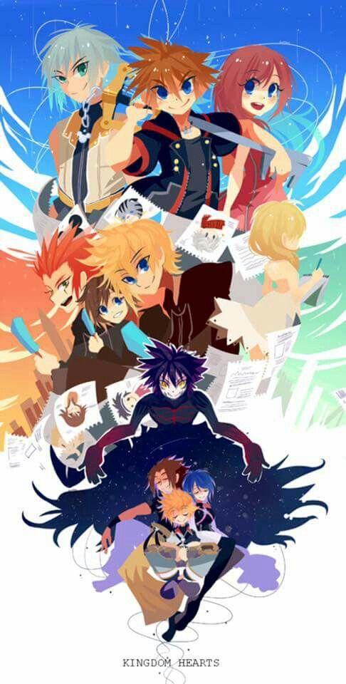Kingdom Hearts Credits to the artist