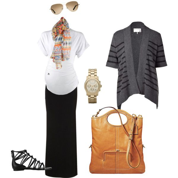 A fashion look from August 2012 featuring rag & bone cardigans, and Cole Haan sandals. Browse and shop related looks.
