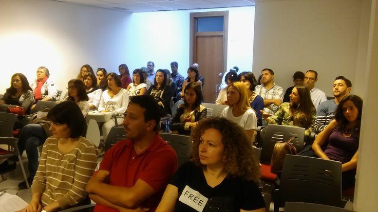Apresentação da plataforma REDA na Escola Básica e SecundáriaTomás de Borba (10 de outubro de 2016).