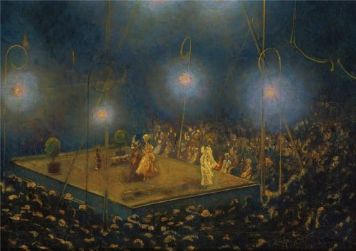 Emma Ciardi (Italian, 1879 - 1933): The Night-Time Performance