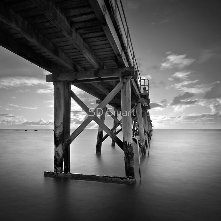 Depth by SD Smart at RedBubble  Port Noarlunga Jetty South Australia