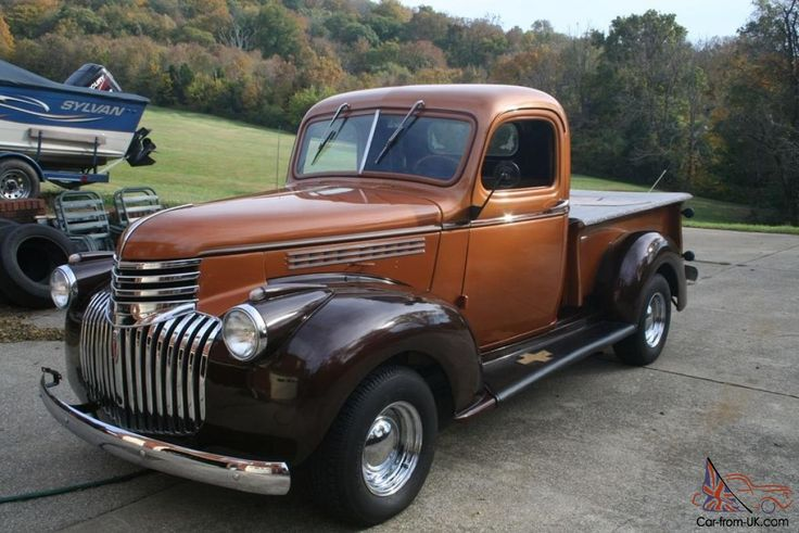 Image result for 1946 Chevy Pickup Truck for Sale