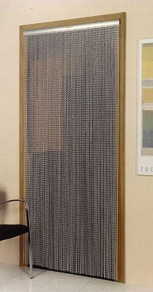 Mesh Chain Metal Doorway Curtain Fly Screens Fly
