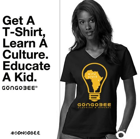 It's either education or elimination.   Gongobee We donate $6 from every t-shirt sold to prevent young girls from child marriage, by keeping them in school. #visitafrica