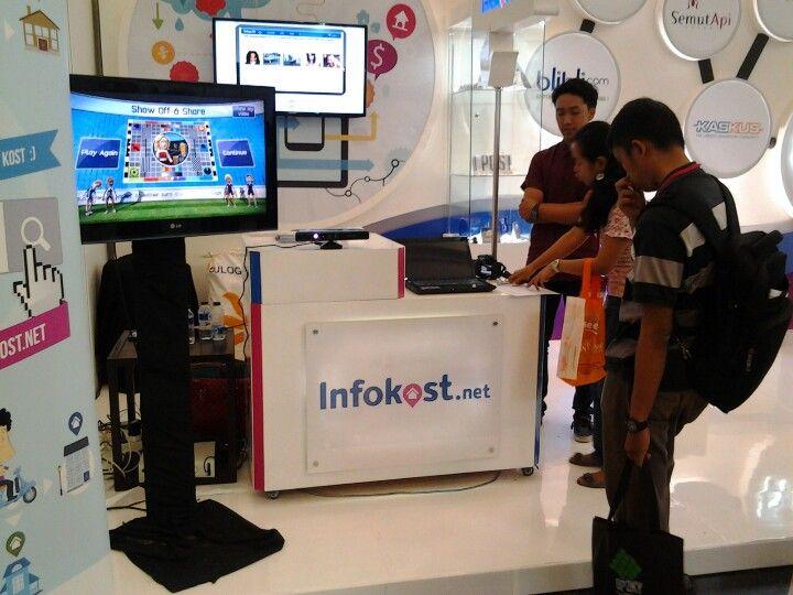 Mampir ke booth #infokost bisa menang hadiah keren! #infokost #inaicta