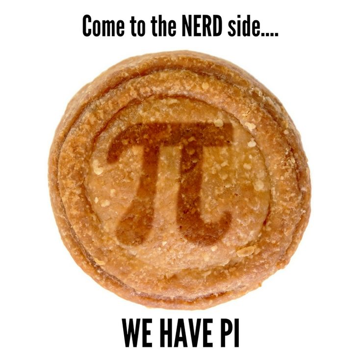Come to the NERD SIDE! we have Pi!