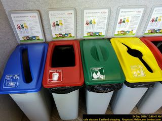 Colour Coded Bins   Bins Color-Coded Library Rubbish