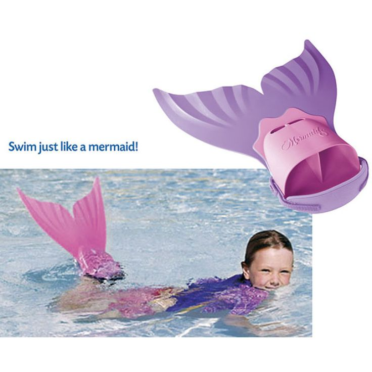 Mermaid Swim Fins - Educational Toys, Specialty Toys and Games - Creative, Award Winning for Science, Math and More   Young Explorers