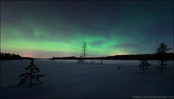 Tähtitaivas | Luontokuvaaja Janne Heimonen – blogi Winter in Finland