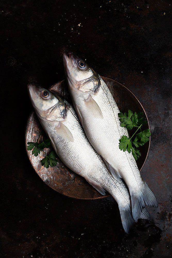 Stunning light on the subject #foodstyling #fish