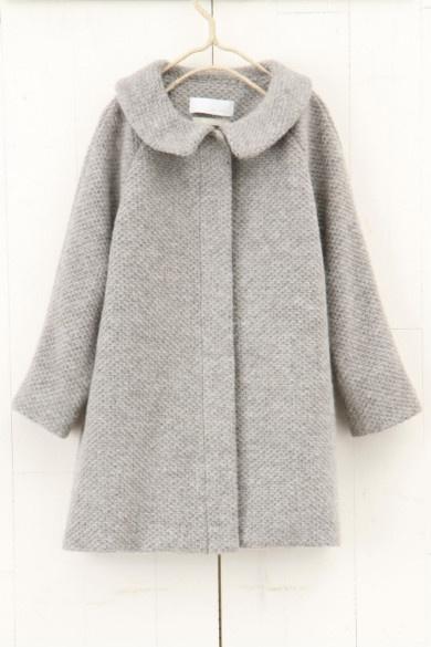 tweedy coat - nikoand