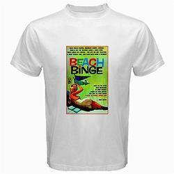 Retro Themed T-shirt Beach Binge Drinking Party