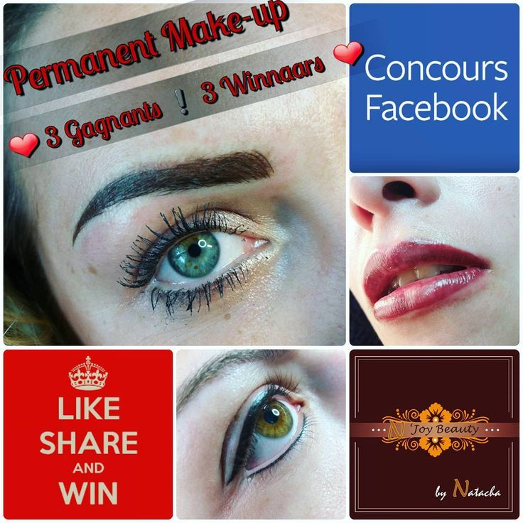 ❗Concours�� Facebook contest❗ �� Gagnez un maquillage permanent! �� Win a permanent make-up! ☞ https://m.facebook.com/story.php?story_fbid=1985919051641444&substory_index=0&id=1744283465805005  Suivez moi sur facebook: N'joy Beautysalon.  Follow me on facebook: N'joy Beautysalon  #pmumakepermanentemakeup #pmu #maquillagepermanent #dermopigmentation #beautyful #eyeliner #eyebrows #microblading #lips #beauty #yeux #sourcils #lèvres #concours #contest #win #gagner #cadeau #girly�� #followme…