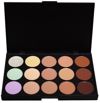Paleta de Corretivos 15 cores - Tudo de Maquiagem