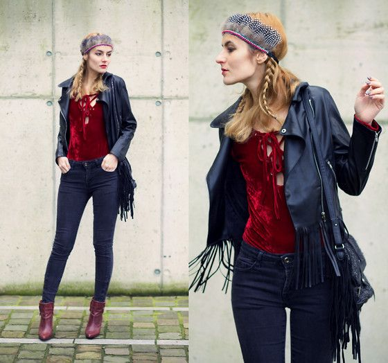 Get this look: http://lb.nu/look/8012158  More looks by Ruxandra Ioana: http://lb.nu/user/1879281-Ruxandra-I  Items in this look:  Boyly Mia Jacket, Choies Bodysuit   #chic #edgy #tribal #streetstyle #look #lookbook #beautiful #style #stylish