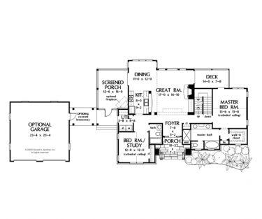 craftsman charmer with detached garage hwbdo75767 craftsman house plan from builderhouseplanscom