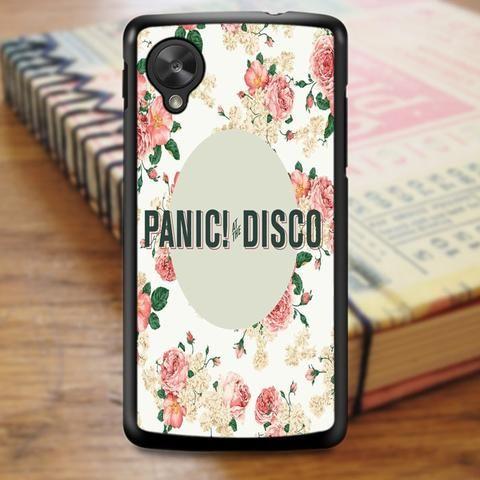 Panic At The Disco Floral Panic Nexus 5 Case