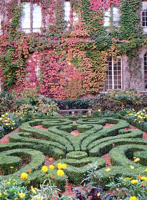 The Gardens of Musée Carnavalet in Paris, France