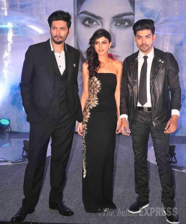 Ali Fazal, Gurmeet Choudhary and Sapna Pabbi at the music launch of 'Khamoshiyan'. #Bollywood #Fashion #Style #Beauty