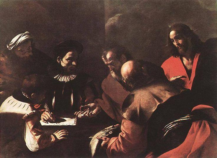 Il tributo di Mattia Preti, opera che si trova alla Pinacoteca di Brera