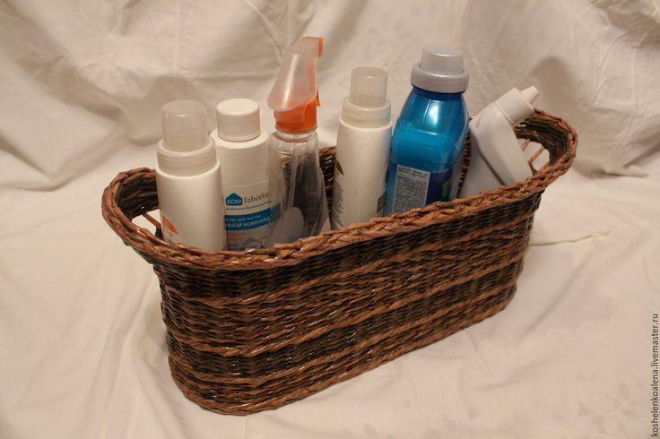 Купить Корзина для ванной комнаты - плетеная корзина, короб для хранения, ящик для хранения, для дома и интерьера