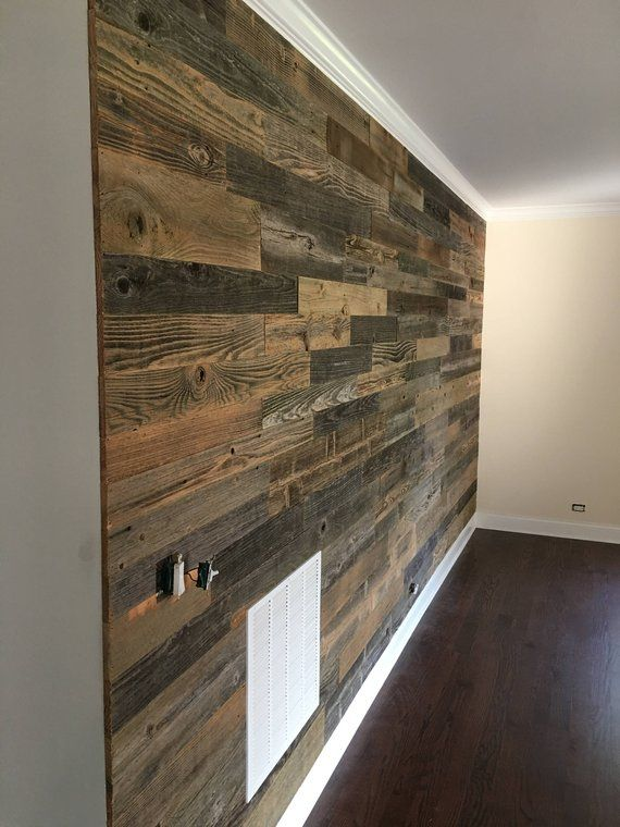 Reclaimed Accent Wall 45 Sqft Accent Wall Reclaimed Accent Wall Interior Paint Colors For Living Room