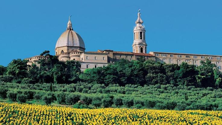 Loreto Sanctuary - Italian Marche Region