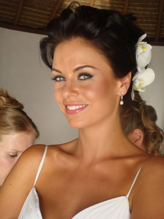 Wedding make-up. i need to tan and work out, its official!