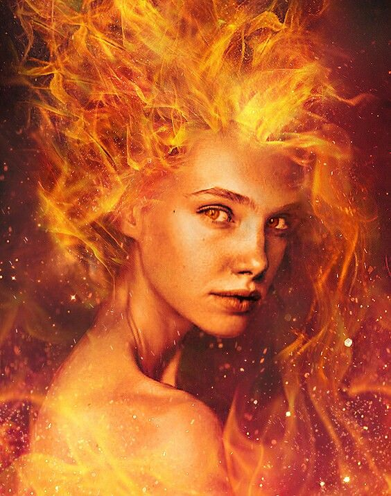 Women are creatures made of fire.