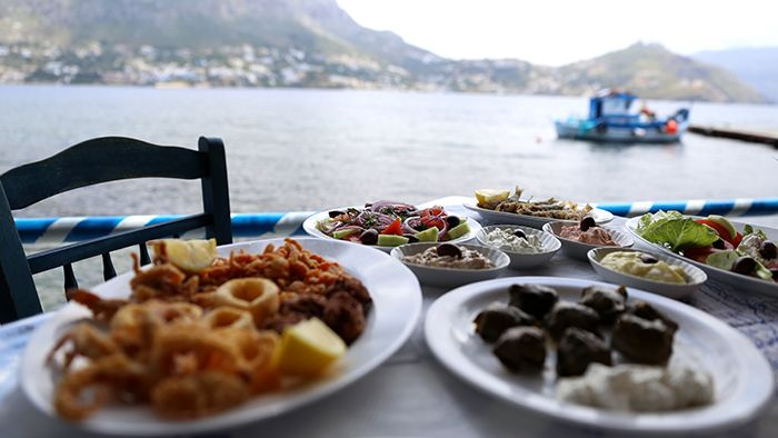 VISIT GREECE Traditional greek dishes by David Hoffmann