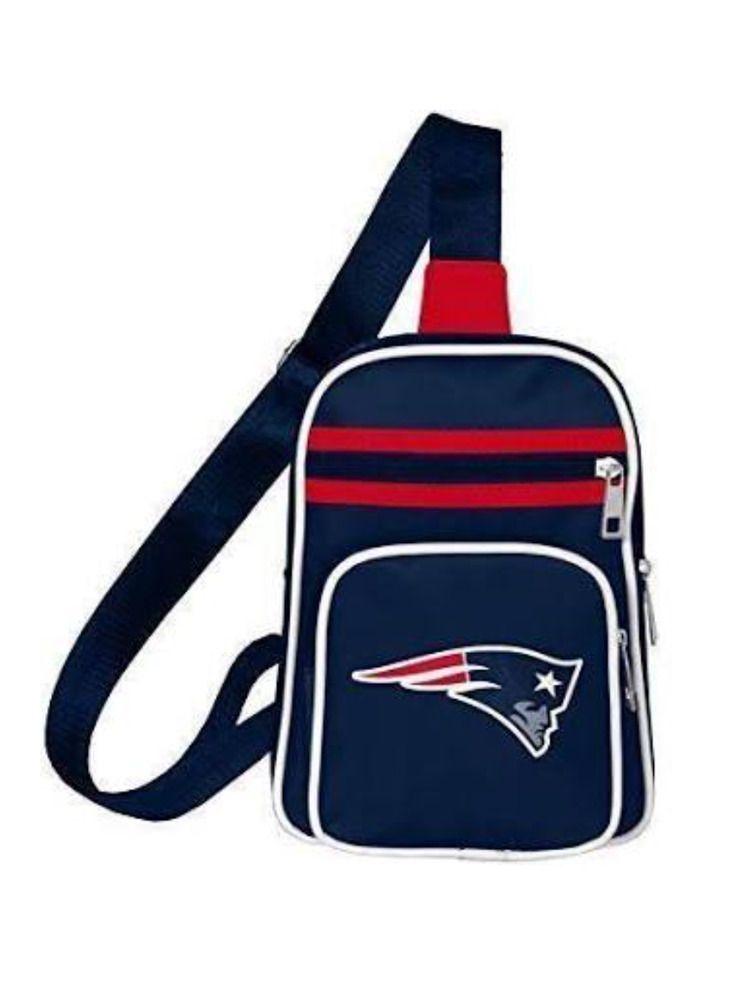 Nfl Brand New England Patriots Mini Cross Sling Sm Backpack Bag Tote Purse