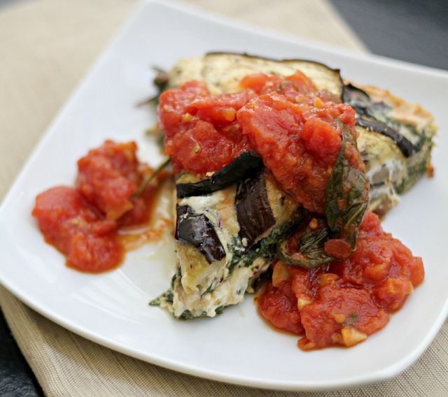 Eggplant and Swiss Chard Tortino | Eggplants, Wells and Recipe